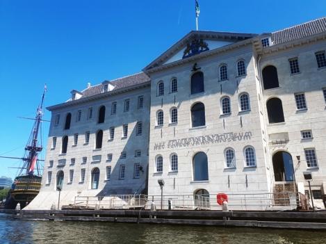 Het Scheepvaartmuseum, Amsterdam, Juli 2018