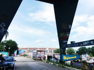 NDSM-Werf, Amsterdam, Juli 2018