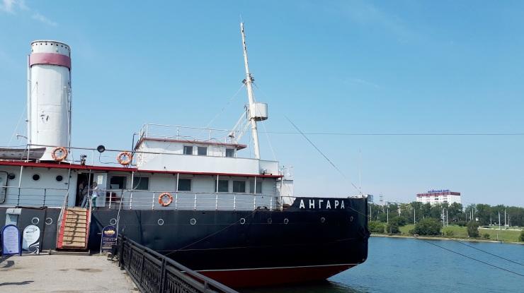 Angara Icebreker Museum, Irkutsk / RU, August 2019