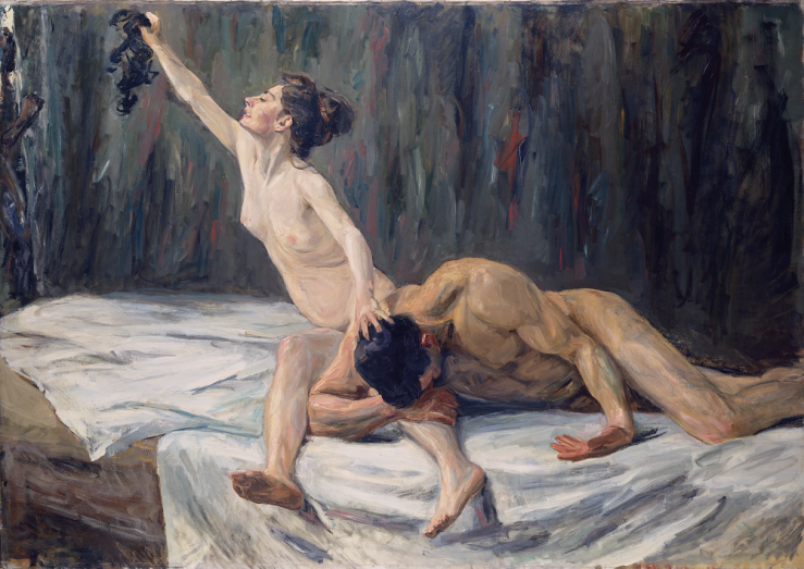 Max Liebermann, Simson und Delila, 1902, Städel Museum (CC BY-SA 4.0 Städel Museum, Frankfurt am Main, https://creativecommons.org/licenses/by-sa/4.0/deed.de)